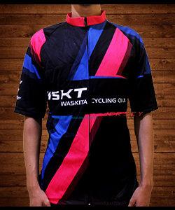 Bikin Jersey Sepeda Klub Waskita Palembang