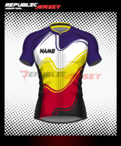 Desain Jersey Sepeda Kode FP-12